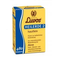 Luvos-Heilerde 2 hautfein , 480g
