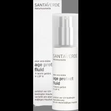 Santaverde aloe vera blüte age protect fluid  30ml