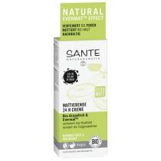 Sante  Mattierende 24 H Creme Bio-Grapefruit & Evermat 50ml